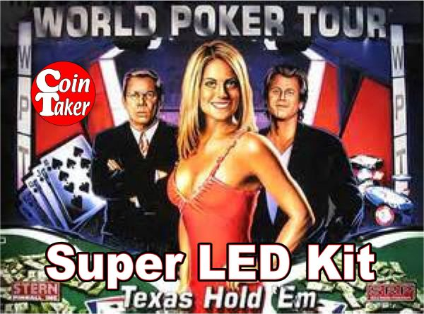 WORLD POKER TOUR-2 Pro LED Kit w Super LEDs