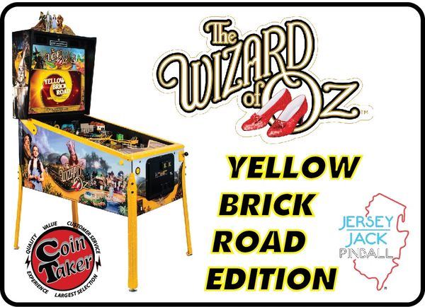 Wizard of Oz Yellow Brick Road Edition by JJP