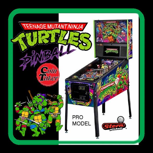 TMNT Teenage Mutant Ninja Turtles Stern PRO PINBALL