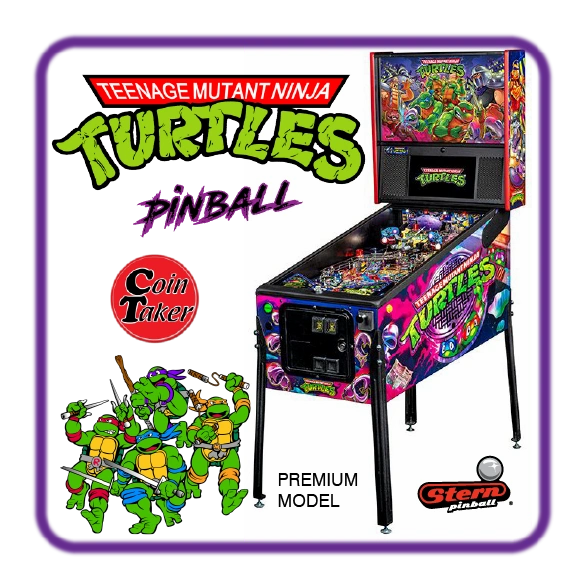 TMNT Teenage Mutant Ninja Turtles Premium Pinball by Stern