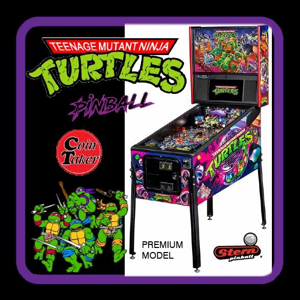 TMNT Teenage Mutant Ninja Turtles Premium Pinball by Stern