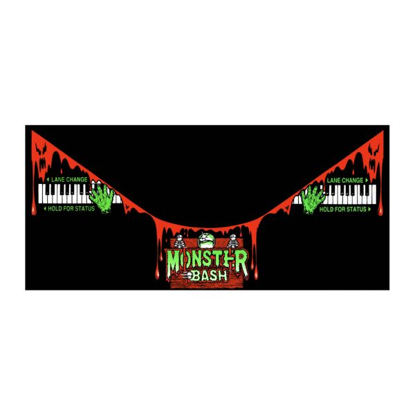 Monster Bash Apron Decals