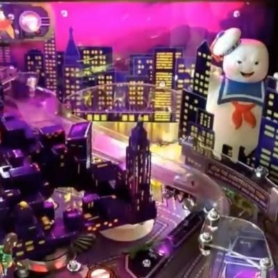 Ghostbusters Pinball Walking Stay Puft