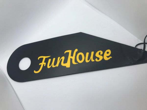 Funhouse Yellow Lighted Magnetic Hinge Covers