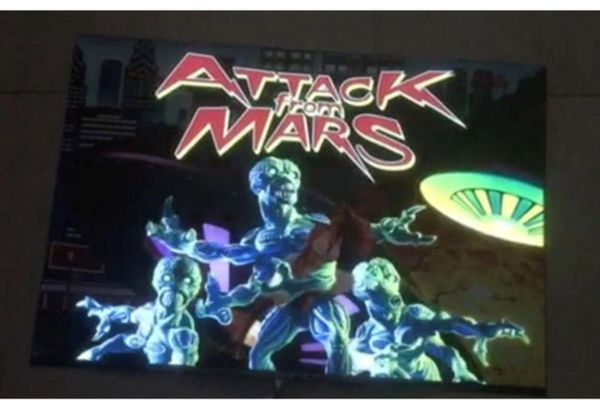 Attack From Mars PowerTranslite™ - Bally/Williams Pinball