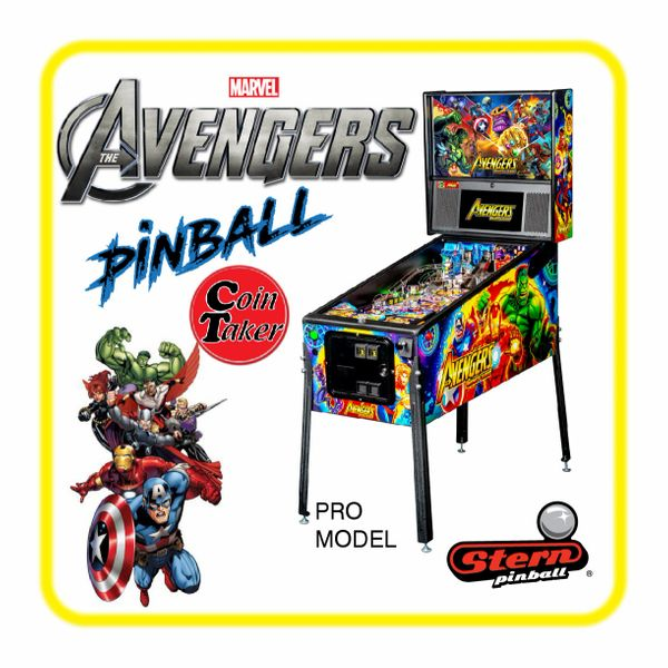 AVENGERS Infinity Quest Stern PRO PINBALL