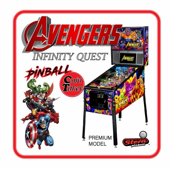 AVENGERS Infinity Quest Premium Pinball by Stern