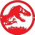 Jurassic Park: Red Logo SLK Acrylic Set