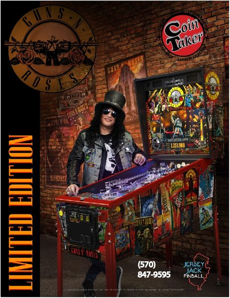 Guns & Roses Limited Edition Deposit