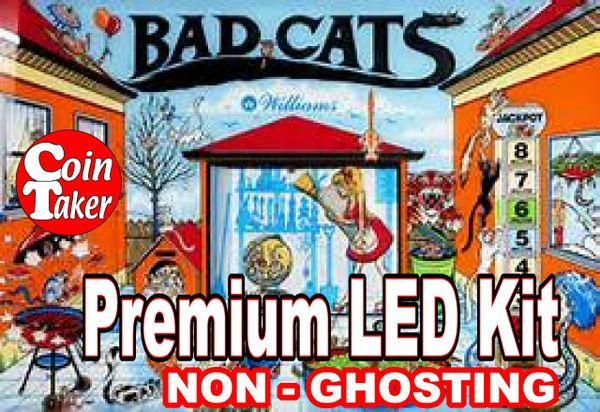 BAD CATS LED Kit with Premium Non-Ghosting LEDs