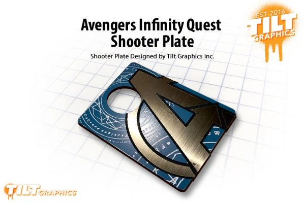 Avengers Infinity Quest Shooter Plate