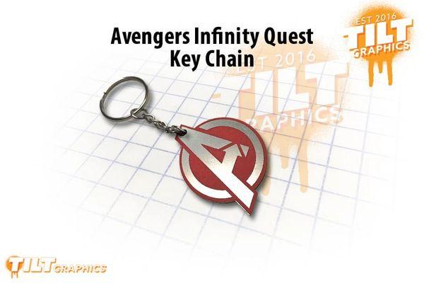 Avengers Inspired Custom Keychain