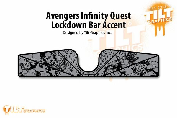 Avengers Infinity Quest Lockdown Bar Accents