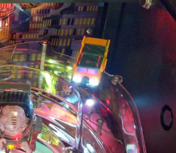 Teenage Mutant Ninja Turtles Pinball Interactive Party Van