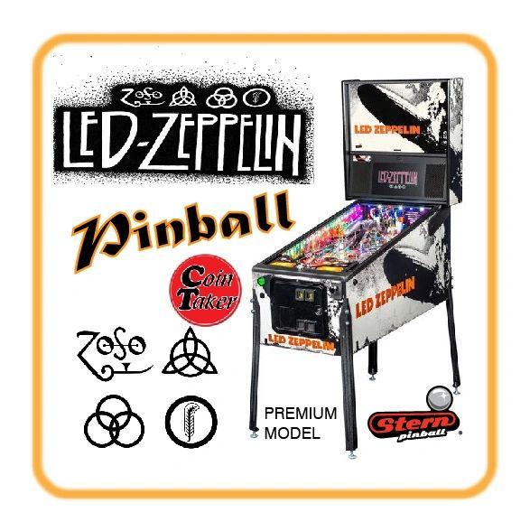 DEPOSIT - LED ZEPPELIN Premium Pinball by Stern
