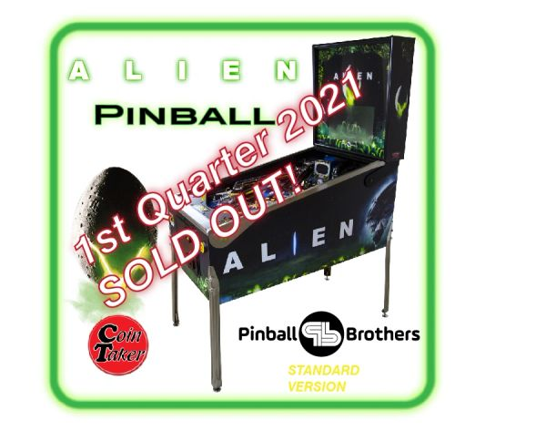 ALIEN Pinball Deposit - Standard Edition by Pinball Brothers