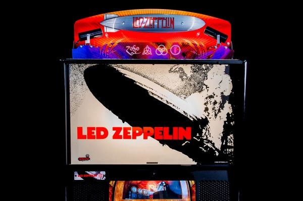 LED ZEPPELIN PINBALL TOPPER