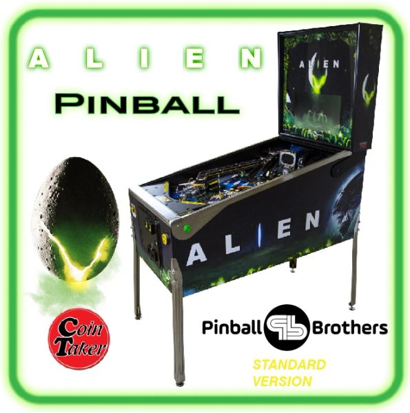 ALIEN Pinball Deposit - Standard Edition by Pinball Brothers 2nd Quarter 2021