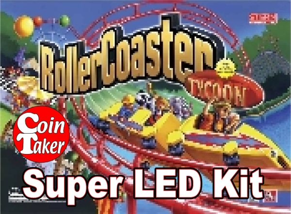 ROLLER COASTER TYCOON-2 LED Kit w Super LEDs