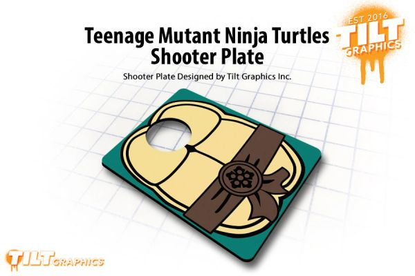 TMNT Shooter Plate
