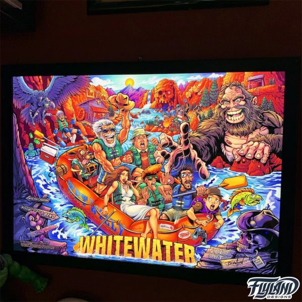 White Water Alternate Acrylic Backglass (Limited Edition)