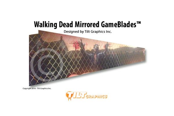 The Walking Dead MirrorBlades