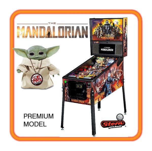 DEPOSIT - MANDALORIAN Premium Pinball by Stern