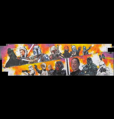 The Mandalorian Art Blades