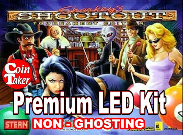 SHARKEY'S SHOOTOUT-1 Pro LED Kit w Premium Non-Ghosting LEDs