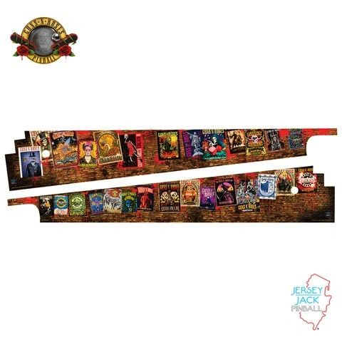 Jersey Jack Official Guns N' Roses 'Not In This Lifetime' Inner Art Blades (PREORDER)