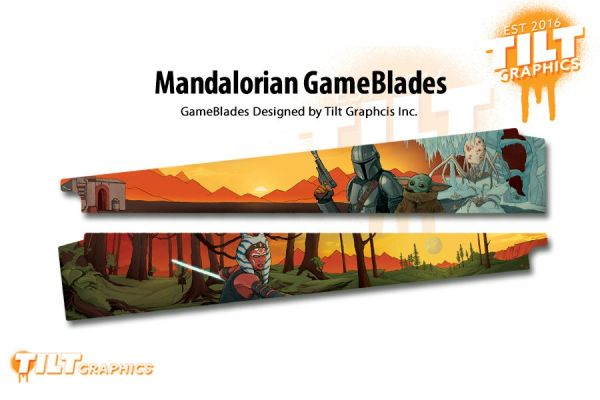 Mandalorian GameBlades™ by Tilt Graphics