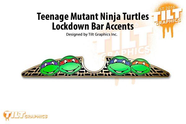 Teenage Mutant Ninja Turtles Lockdown Bar Accents