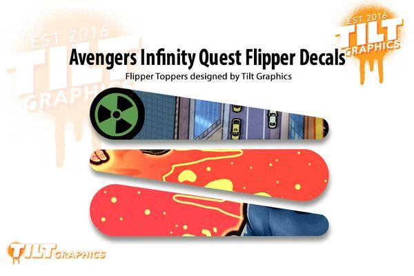 Avengers Infinity Quest Flipper Decals