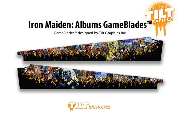 Iron Maiden: Albums GameBlades™