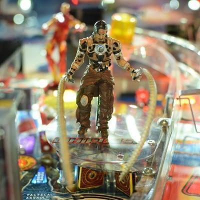 Iron Man Pinball Illuminated Whiplash Mod
