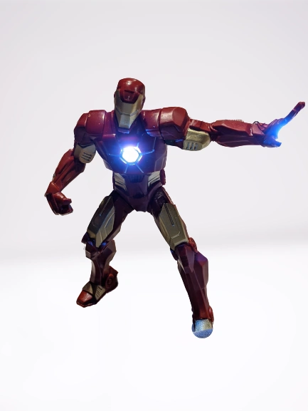 Avengers: Infinity Quest Pinball Illuminated Iron Man