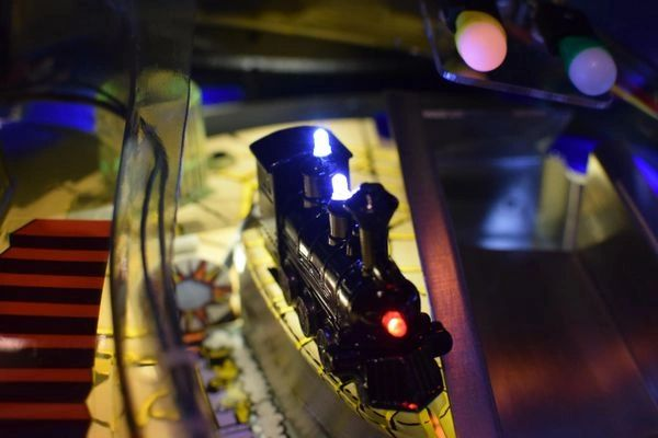 The Addams Family Pinball Illuminated Train Mod