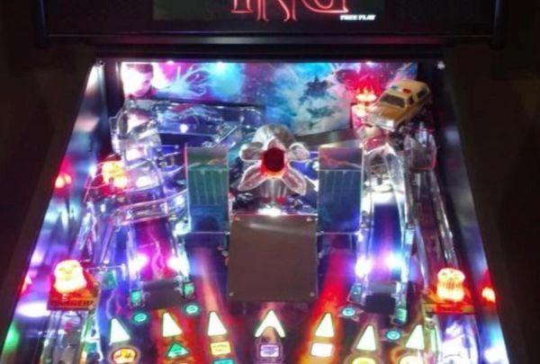 Stranger Things Pinball Illuminated Flashing Sirens Police Blazer
