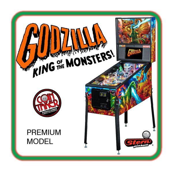 DEPOSIT - Godzilla Premium Pinball by Stern