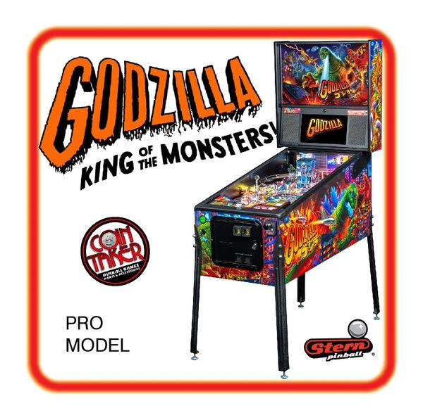 Godzilla Stern PRO PINBALL - DEPOSIT ONLY