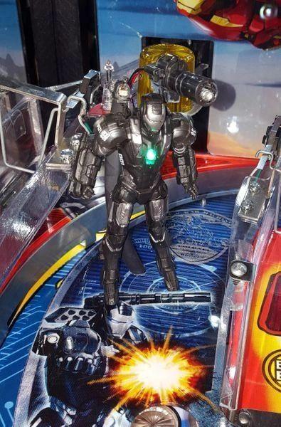 Iron Man Pinball Illuminated War Machine