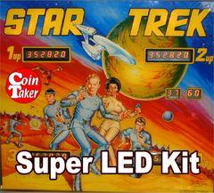 2. STAR TREK - 1978 LED Kit w Super LEDs