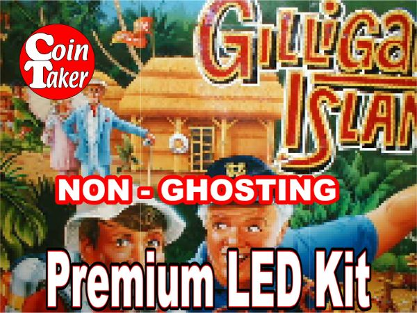 1. GILLIGAN'S ISLAND LED Kit with Premium Non-Ghosting LEDs