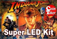 2. 1993 INDIANA JONES BALLY/WILLIAMS LED Kit w Super LEDs