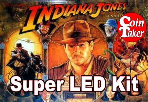 2. 1993 INDIANA JONES BALLY/WILLIAMS LED Kit w Super LEDs