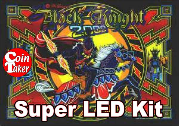 2. BLACK KNIGHT 2000 LED Kit w Super LEDs