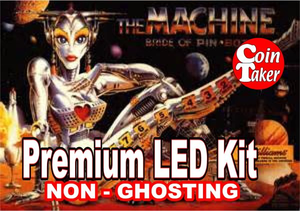BRIDE OF PINBOT LED Kit with Premium Non-Ghosting LEDs