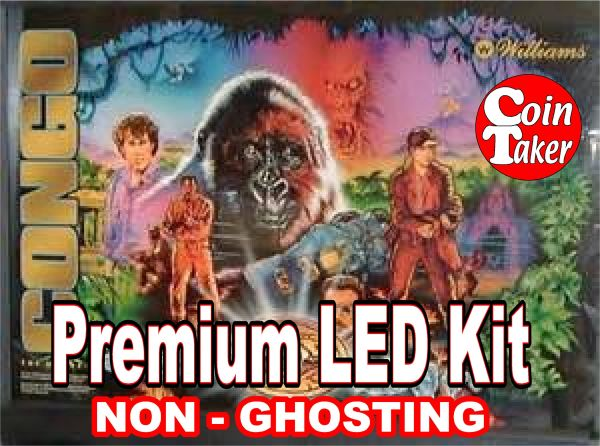 CONGO LED Kit with Premium Non-Ghosting LEDs