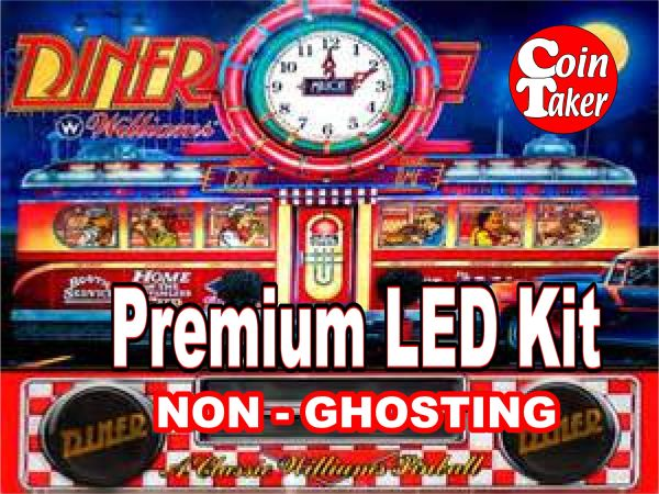 DINER LED Kit with Premium Non-Ghosting LEDs