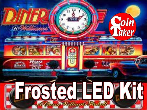 3. DINER LED Kit w Frosted LEDs